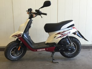 Yamaha BW's Naked